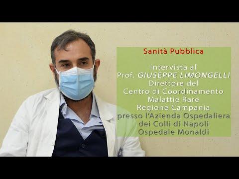 Prof Giuseppe Limongelli  direttore Centro di Coordinamento Malattie Rare regione Campania