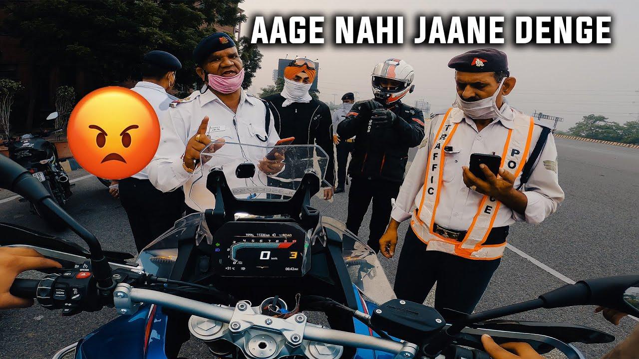 Police ne Noida me ENTER nahi hone diya JATT PRABHJOT aur mujhe