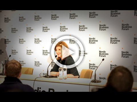 Nordic Business Report: Interview with Arianna Huffington
