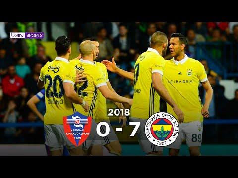 K.Karabükspor 0 - 7 Fenerbahçe #Özet