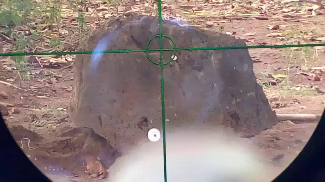 Memasang kamera pada teleskop senapan angin senapan angin plus