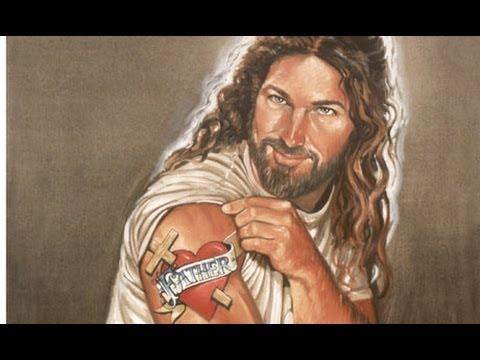 Macho Jesus Has Tattoos