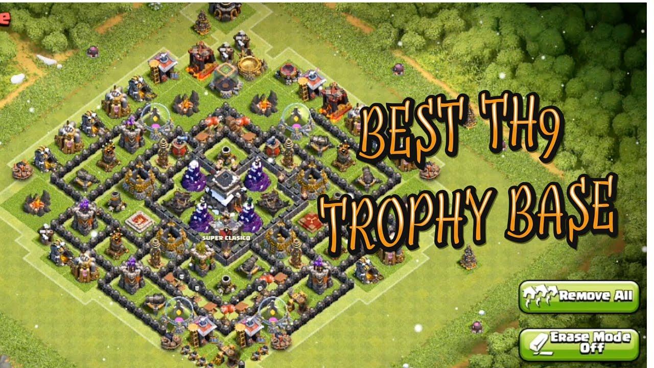 Th9 Best Defense Trophy Base 3