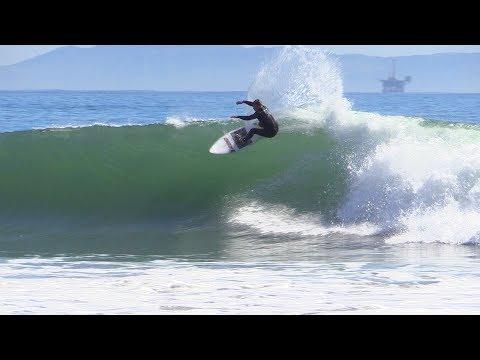 Shipwreck Reef Surfing Raw | Santa Barbara, CA