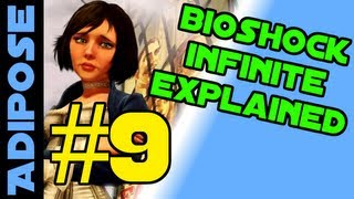Bioshock Infinite EXPLAINED #9 -He DOESN'T row, Bioshock logo, Lady Comstock
