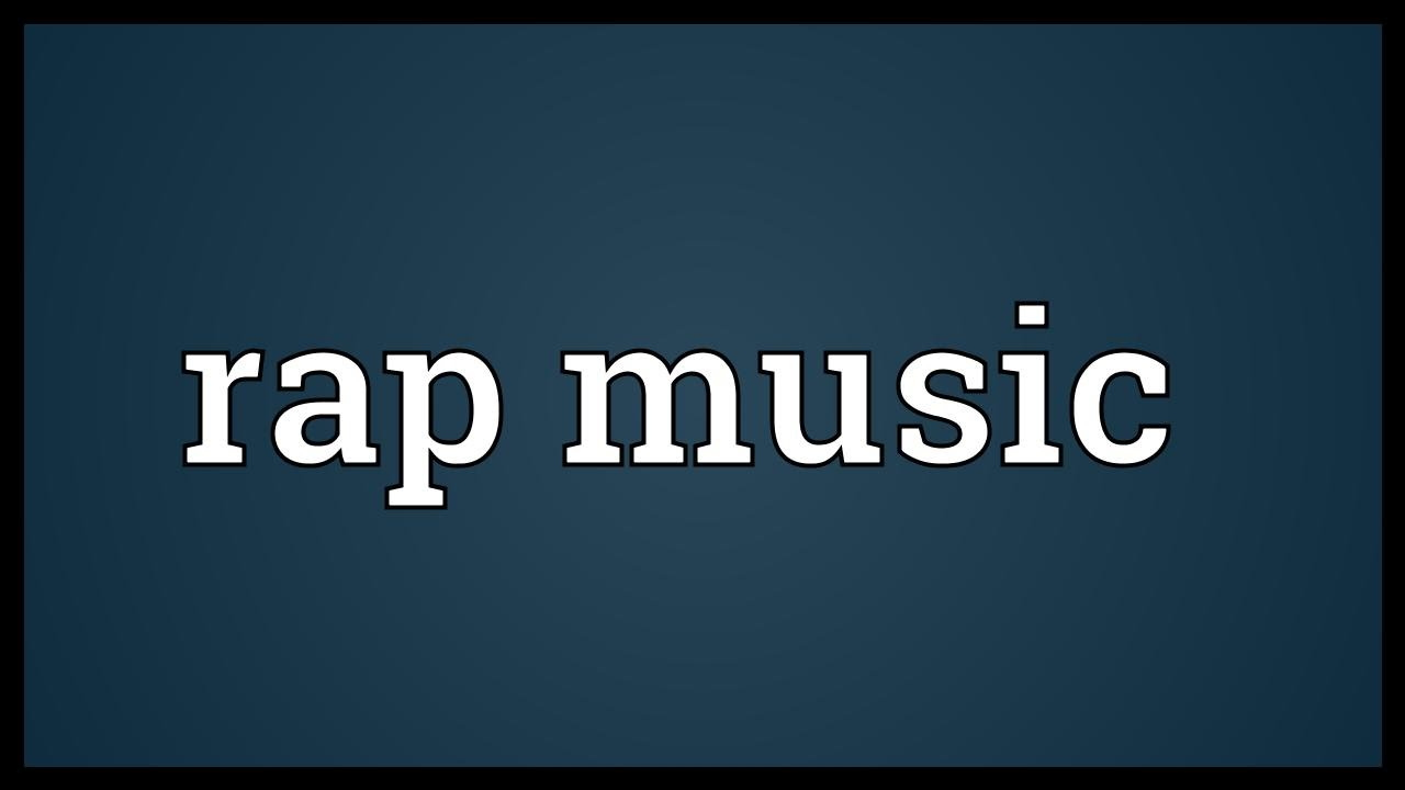 Rap music Meaning