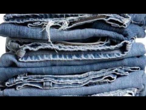 how to make use of waste jeans in home/diy/home decoration/waste metal bangles