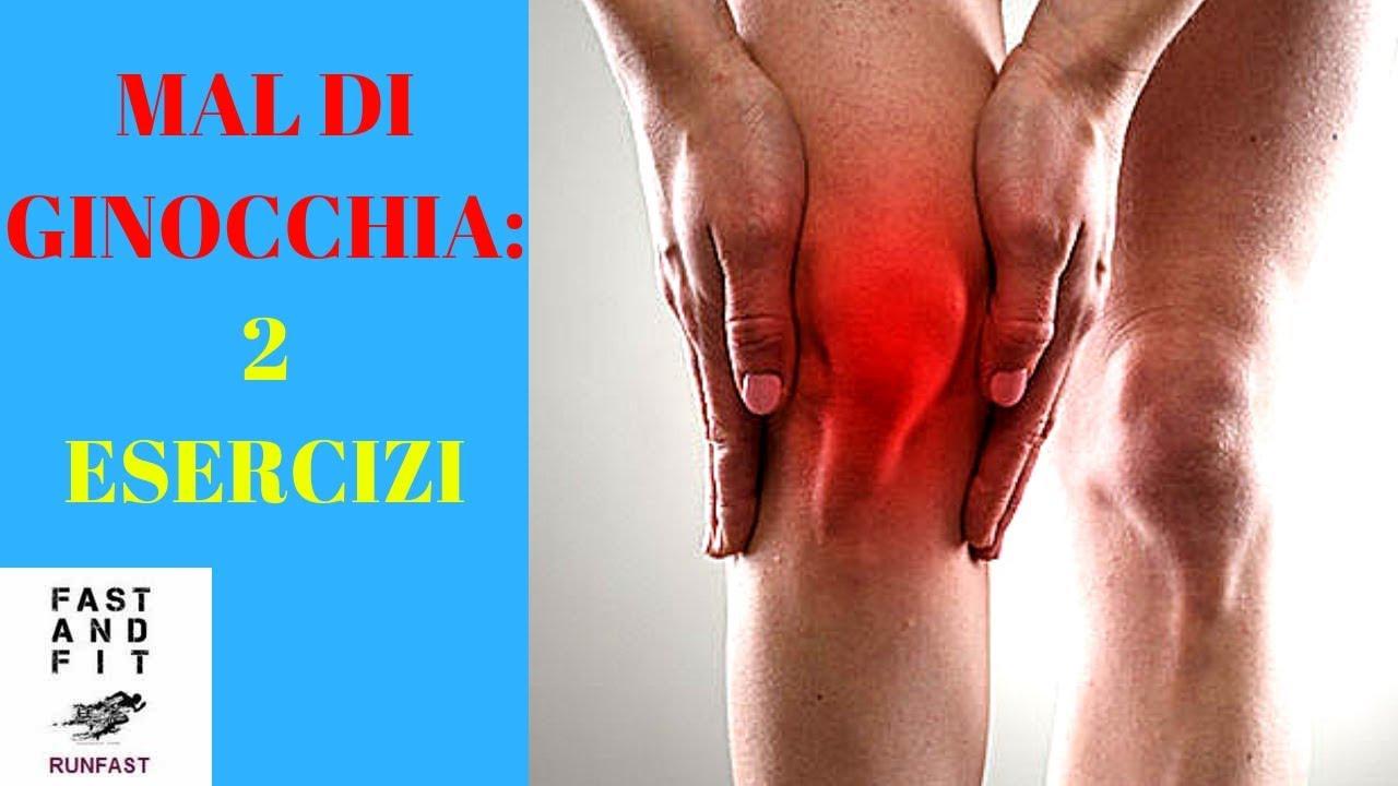 I dolori alle ginocchia e le cause da palestra