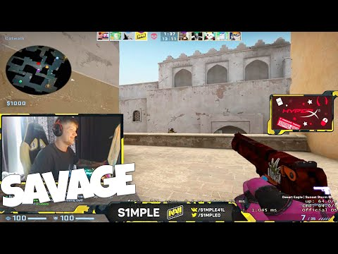 When S1mple Streams #10 (Stream Highlights, Funny Moments , Insane Plays ...) #CSGO
