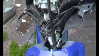 elektr scooter bo'yicha starter ta'mirlash tugmasini