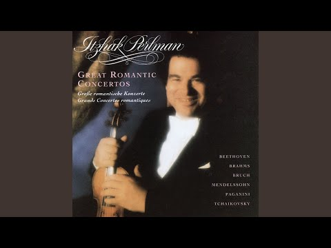 Violin Concerto in D major Op. 35 (1984 Remastered Version) : I. Allegro moderato