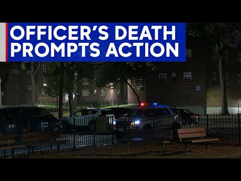 NYC tries to curb violence in housing complex where officer was killed
