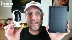 """Reolink Argus 2"" Akku-/Solarbetriebene WLAN Security-Cam"
