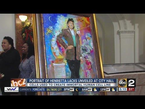 Portrait of Henrietta Lacks unveiled at Baltimore City Hall