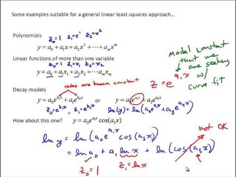 NM5 7 General Linear Least Squares