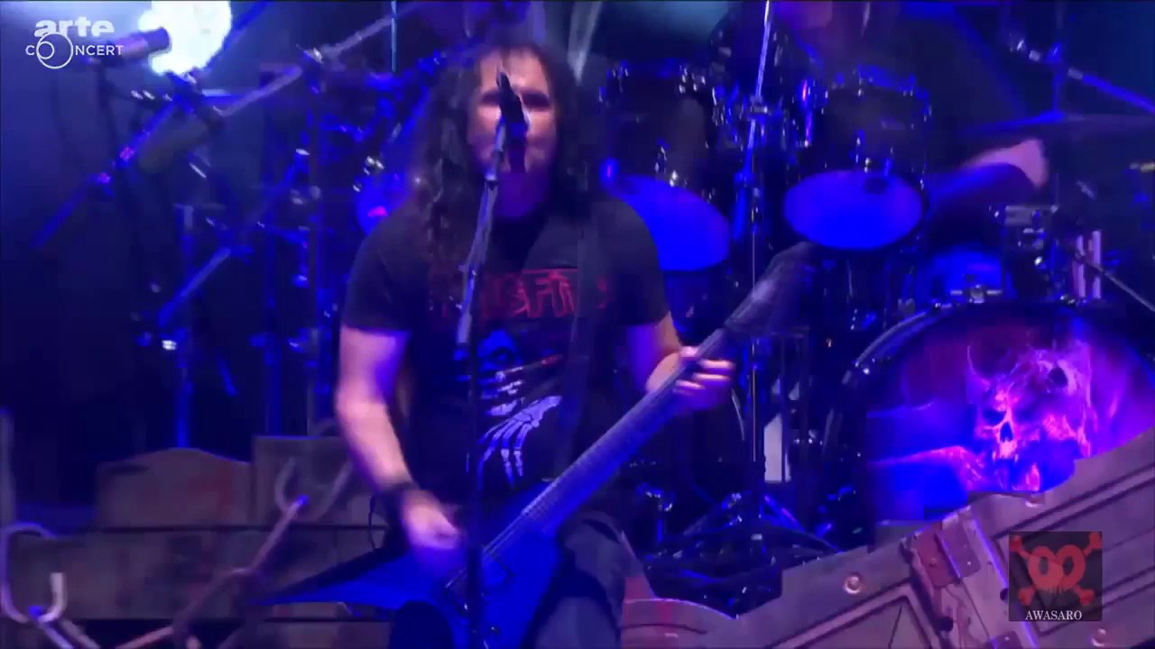 Arte Tv Hellfest 2017 Kreator Total Death Live At Hellfest 2017