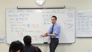 Leibniz's Derivative Notation (2 of 3: Finding equation of a tangent)