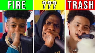RANKING 2019 XXL FRESHMAN CYPHERS TRASH TO FIRE (Da Baby, Blueface, Lil Mosey)