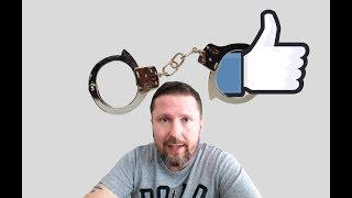 Apecт за мысли на фейсбук