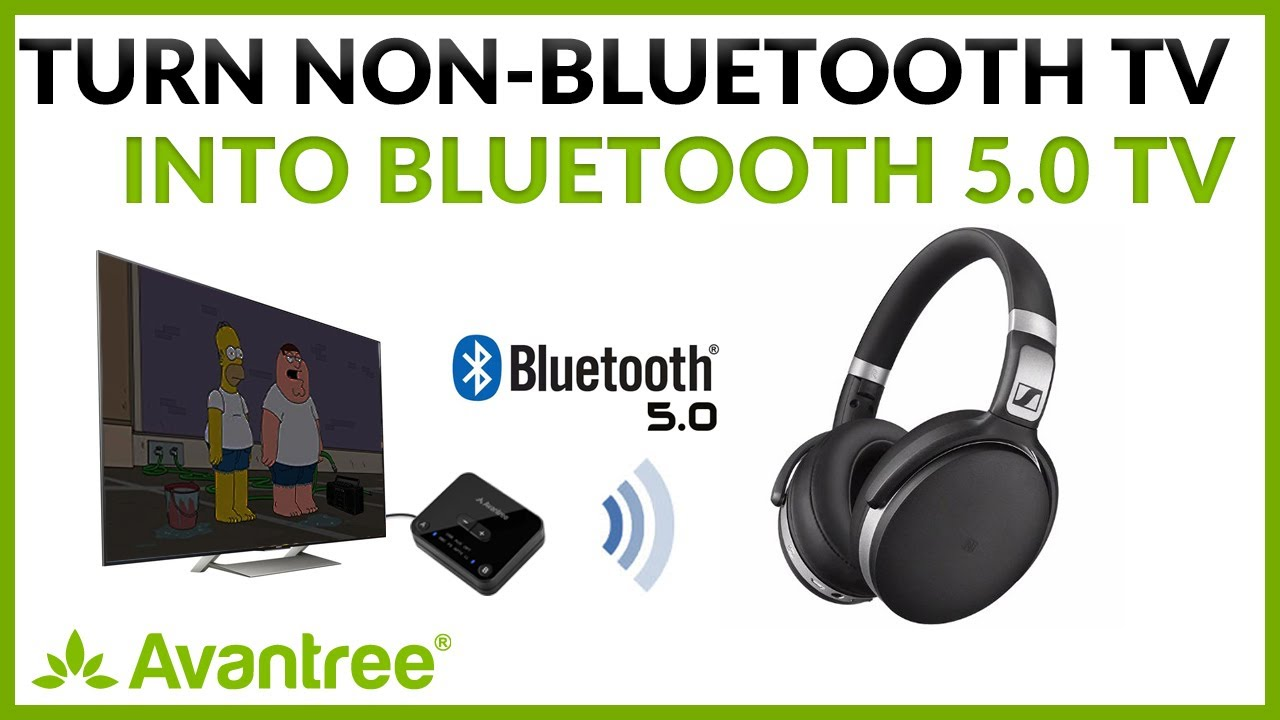 Watch Tv With Bluetooth 5 0 Headphone How To Connect Bluetooth Headset To Tv Youtube