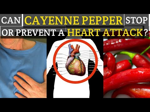 HOW TO USE CAYENNE PEPPER TO STOP OR PREVENT HEART ATTACK | NATURAL HOME REMEDIES FOR HEART ATTACK
