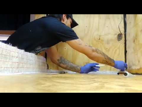 Diy 800 gallon plywood Aquarium build. Today's work.