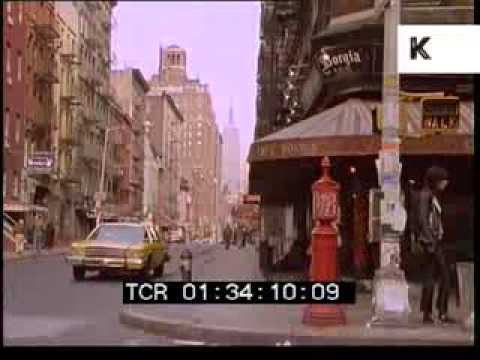 1980 Greenwich Village, New York, Rushes Filmed on 35mm