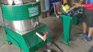 (Operation Manual) Plastic Melter / Densifier (Waste Plastic Recycling into bricks etc)