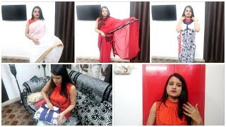 Festival Clothes/ Sarees Shopping||103 High Fever/Super Sick me
