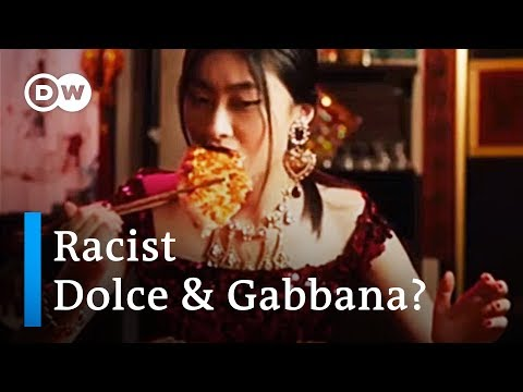 Dolce & Gabbana under fire over racism accusations | DW News