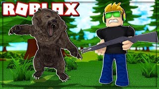 I BOUGHT A BRUTAL WEAPON IN THE HUNTING SIMULATOR! It's ROBLOX