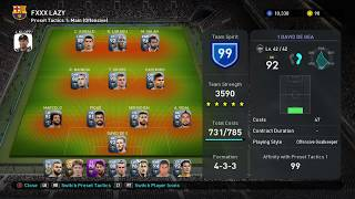 PES 2019 top players max trained?