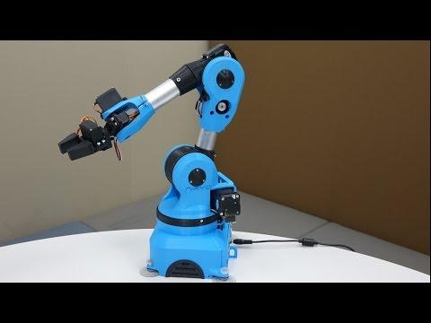 6 Axis Robotic Arm (Open Sources)