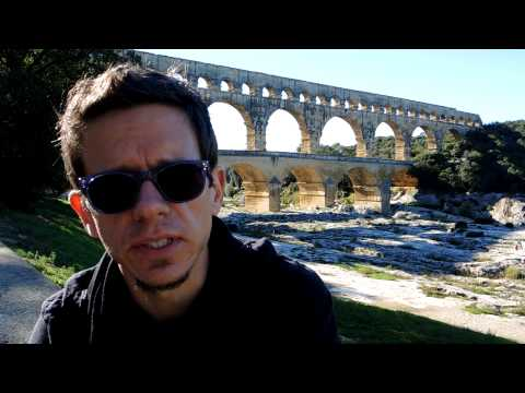 Visiting the Pont du Gard