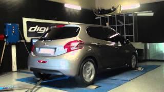 Peugeot 208 hdi 92cv @ 117cv reprogrammation moteur dyno digiservices