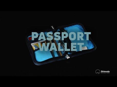 Shimoda Passport Wallet