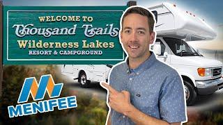Menifee Camping - Wildęrness Lakes RV Resort