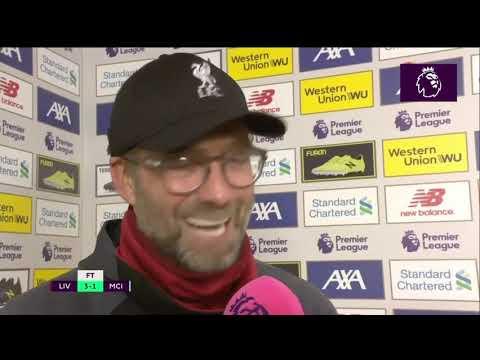 Jurgen Klopp post-match interview Liverpool 3-1 Manchester City