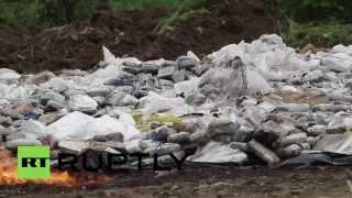 В Панаме сожгли более 9 тонн наркотиков