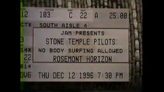 1/3 Stone Temple Pilots LIVE 12/12/1996; Rosemont, IL
