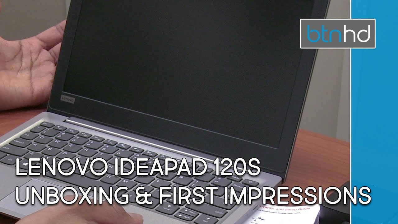 Lenovo IdeaPad 120S Unboxing & First Impressions!