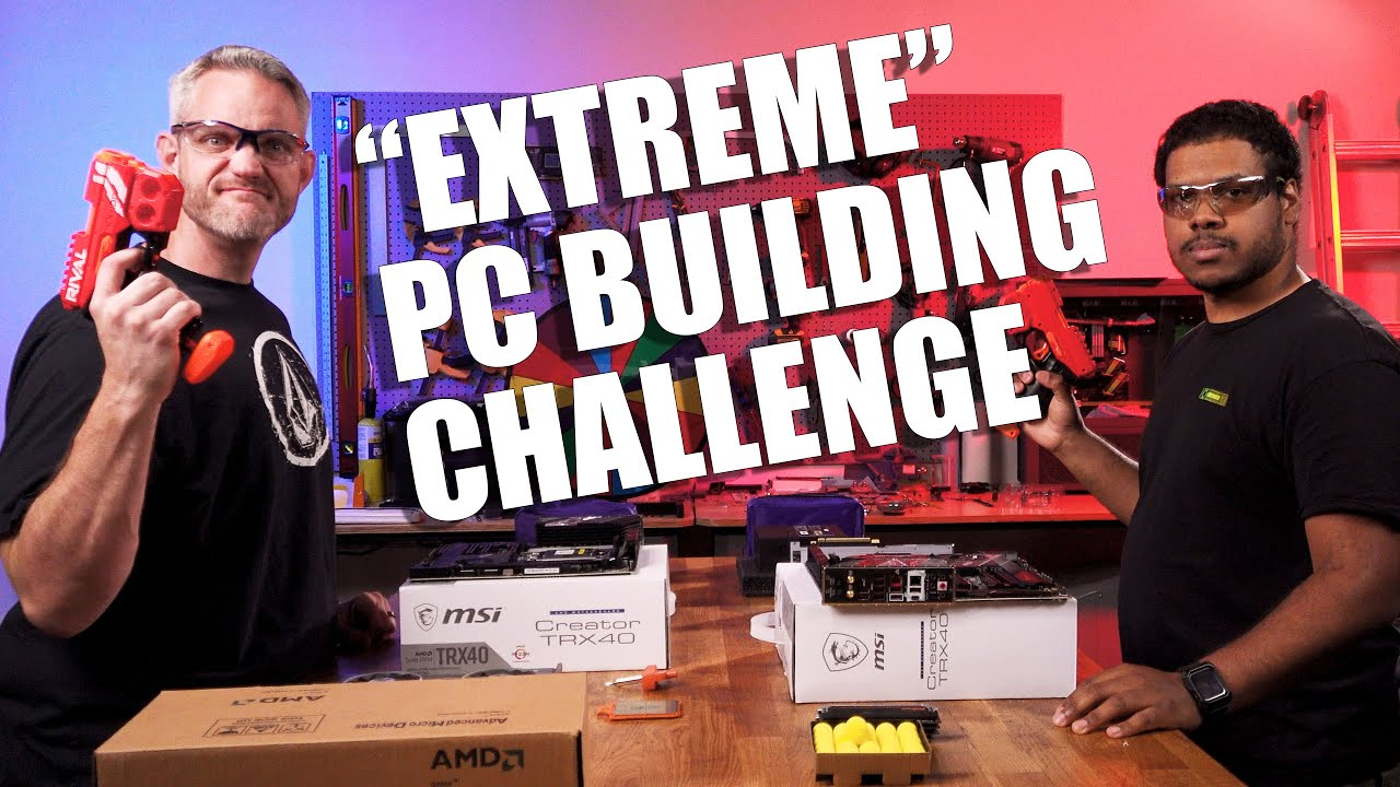 Pro vs Joes - PC Building