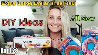 EXTRA LARGE Dollar Tree Haul ❤ DIYS Ideas❤ All New* April 28