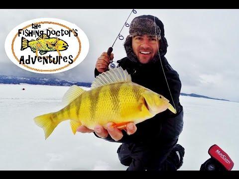 Ice fishing storm front for cascade lake idaho jumbo perch for Ice fishing idaho