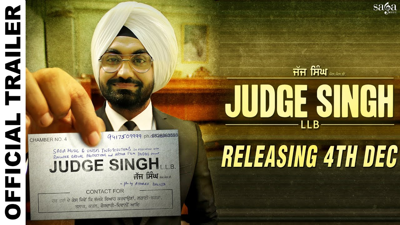 Judge Singh LLB - Official Trailer download video hd mp4