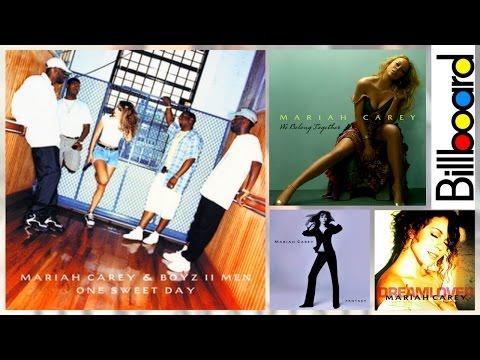 Mariah Carey - Billboard Hot 100 - Chart History (1990-2017)