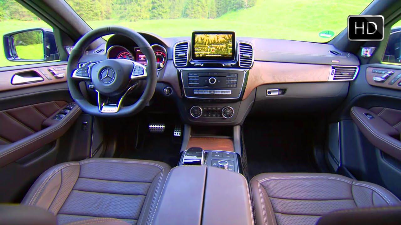 Mercedes Box Suv >> 2016 Mercedes-Benz AMG GLE63 S 4MATIC SUV Interior Design HD - YouTube