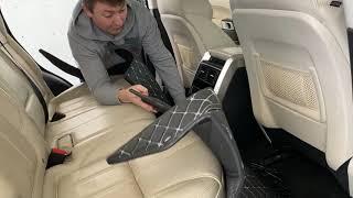 Diamond Car Mats in the Range Rover