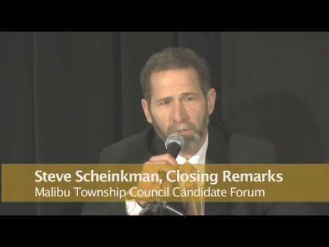 Steve Scheinkman for Malibu City Council