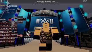 Roblox Wrestling Entertainment Luke vs RyBack vs Puma I.C Championship